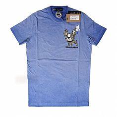 (ディースクエアード) DSQUARED2 S74GC0890 S20694 483 プリント Tシャツ 半袖 ブルー (並行輸入品) RICHJUNE (S) DSQUARED2(ディースクエアード) http://www.amazon.co.jp/dp/B011LZKL1K/ref=cm_sw_r_pi_dp_7-E3vb1C3BZ6C
