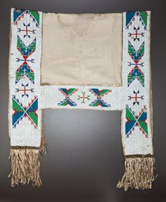 Find out with our FREE auction evaluation or view our current and previously auctioned artwork at Heritage Auctions. Native American Horses, Native American Regalia, Native American Crafts, Native American Beadwork, American Indian Art, American Indians, Indian Horses, Indian Beadwork, Saddle Blanket