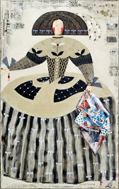 Mariana de Austria Dragonfly fabricating history Art Works, Easy Canvas Painting, Art Dolls, Floral Art, Colorful Floral Art, Art Girl, Art, Textile Art, Beautiful Art