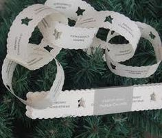 east of india paper chains - Google Search