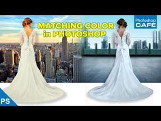 MATCHING COLORS when COMBINING PHOTOS in PHOTOSHOP - YouTube