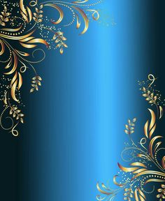 Blue and gold frame card Frame Background, Background Patterns, Background Images, Page Borders Design, Border Design, Floral Pattern Vector, Motif Floral, Framed Wallpaper, Wallpaper Backgrounds