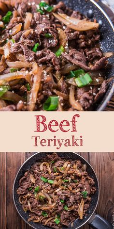 beef dishes Beef teriyaki is a quick and easy Japanese cuisine famous around the world. Savory and umami beef dishes that require few ingredients. Meat Recipes, Asian Recipes, Cooking Recipes, Healthy Recipes, Sliced Beef Recipes, Beef Chuck Recipes, Easy Beef Recipes, Burger Recipes, Shaved Steak Recipe