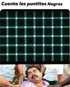I see 5 black dots and you ? Very Funny Jokes, Crazy Funny Memes, Funny Puns, Really Funny Memes, Funny Relatable Memes, Funny Facts, Funny Illusions, Cool Illusions, Optical Illusions