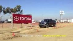 Presented by Madera Toyota: View the new 2015 Toyota 4Runner and 2015 Toyota Tundra as they take on every bump and curve at the Toyota Test Track during this year's World Ag Expo.
