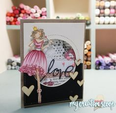 Stamping Bella - Mixed Media into Cardmaking