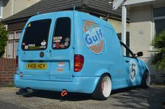 VW Caddy Van Rat-look Signwriting