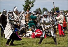 Clash of Arms  The Battle between the Lord John Clifford and the Lord De Massey at Tatton Old Hall. Organised by Plantagenet Events.