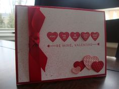 Stamp with Tammy: Valentines Day Card