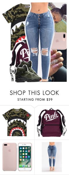 """""""Pnb Rock - questions."""" by theyknowtyy ❤ liked on Polyvore featuring NIKE"""