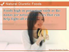 Diuretic Effect of Bananas and Other Potassium-Rich Foods