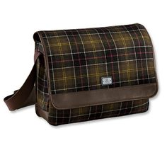 Barbour Messenger bag - Love this but I'll bet it costs a fortune.