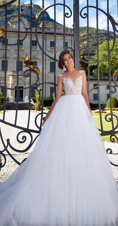 Milla Nova Bridal 2017 Wedding Dresses laysy / http://www.deerpearlflowers.com/milla-nova-2017-wedding-dresses/16/
