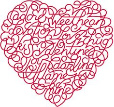 Typeverything.com - Heart by Marian Bantjes (via UPPERCASE - journal)