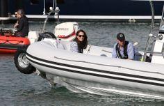 ニュージーランド・オークランド(Auckland)の港でレースを終えた英国のウィリアム王子(Prince William)とキャサリン妃(Catherine, Duchess of Cambridge、2014年4月11日撮影)。(c)AFP/FIONA GOODALL ▼11Apr2014AFP|英王子夫妻がヨット対決、勝者はキャサリン妃 NZ http://www.afpbb.com/articles/-/3012409 #Auckland #WaitemataHarbour #PrinceWilliam #Catherine #DuchessofCambridge