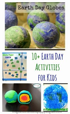 Celebrate Earth Day with Handprint Art  A well Footprint art and