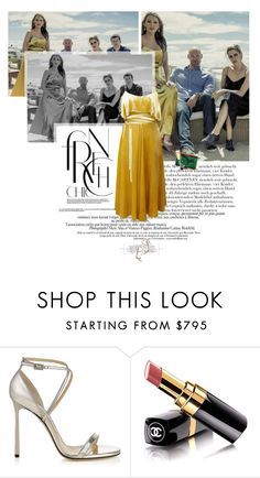 """""""Untitled 3594..."""" by thplacebo ❤ liked on Polyvore featuring STELLA McCARTNEY, Jimmy Choo, Christian Louboutin and Chanel"""