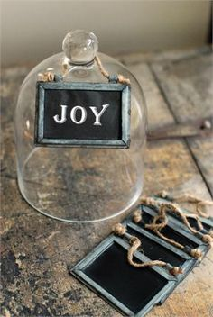 "These rustic Tin Framed Mini Chalkboards have so many uses throughout any farmhouse. Use them in the mudroom to label crates of mittens and hats or entertain your guests by hanging them from dining chairs instead of place cards. We like them best as Christmas Tree ornaments--perfect for rustic, country style holiday decor. The set includes six small chalkboards, each features a weathered tin frame with a vintage patina and a twine cord for hanging. 3.5""W x 2.5""H"