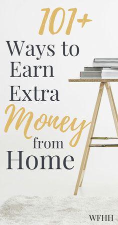 101 ways to make money at home by gwen ellis
