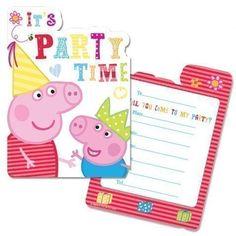 Invitation Fête Anniversaire Peppa Pig x 6 Neuf, http://www.amazon.fr/dp/B00CPM9EI0/ref=cm_sw_r_pi_awdl_iFOtvb0AMJWQS