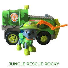 Paw Patrol Rocky Jungle Rescue Truck