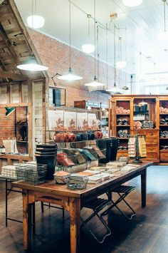 Old Faithful Shop   Vancouver, Canada looks like a stylish place to   pick up some quality products. @explorecanada