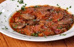 How to make Portuguese fava beans stew with Portuguese sausage.
