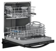 Shop Frigidaire Gallery Tall Tub Built-In Dishwasher Stainless steel at Best Buy. Find low everyday prices and buy online for delivery or in-store pick-up. Dishwasher Racks, Black Dishwasher, Built In Dishwasher, Door Stays, Fully Integrated Dishwasher, Energy Saver, Tub, Cool Things To Buy
