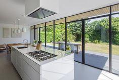 Grassodenridder architecten - The Art of Living Kitchen Interior, Home Interior Design, Küchen Design, House Design, Cute Home Decor, House Windows, House Extensions, Cuisines Design, Modern Kitchen Design