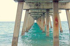 beach photography of jupiter pier ~ beach bum chix