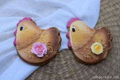 Perníky - Velikonoce III – celkav – album na Rajčeti Easter Cookies, Royal Icing, Cookie Decorating, Amazing, Animals, Animales, Animaux, Animal, Animais