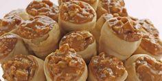 Canudinhos de doce de leite e amendoim