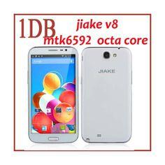 JIAKE V8 Octa Core Smartphone http://www.spemall.com/JIAKE-V8-Smartphone-with-3G-GPS-NFC-13-0MP-Back-Camera-Android-4-2-MTK6592-Octa-Core-1-7GHz-2GB-16GB-6-0-Inch-1280-x-720-pixels-HD-IPS-Screen_g.html
