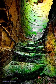 Staircase  Ruins of Ashby de la Zouch Castle