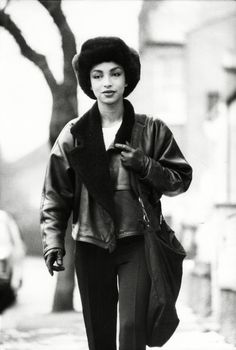 Sade out and about...