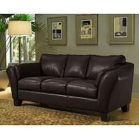 Loft Leather Sofa - Brown - Sam's Club