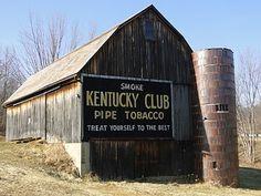 Kentucky Club - advertisements barns