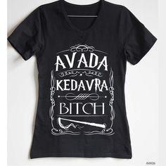 Women Avada Kedavra T-shirt