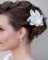Hair Comes the Bride- Bridal Hair Flowers