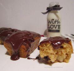 POIRE BELLE HELENE EN TRONCHE DE CAKE !!!