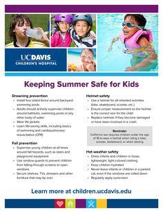Keeping summer safe for kids