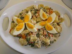 AMarte à mesa: Salada Russa