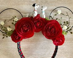 Posh Mouse Ears and Such by PoshParkCreative on Etsy