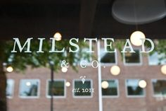 Seattle: Milstead & Co. Kinfolk