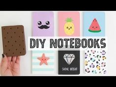7 DIY NOTEBOOKS IDEAS   School Supplies You NEED To Try! - NIM C - YouTube