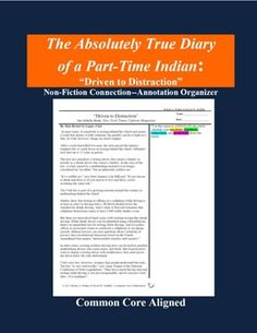 """This """"side-by-side"""" annotation organizer supports close and active reading of by prompting students to write questions, comments, connections, and predictions while reading this provocative non-fiction article that addresses the consequences of driving while distracted."""