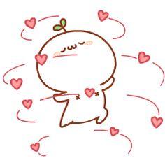 This is what I feel for you haha Cute Love Gif, Cute Love Memes, Cute Cat Gif, Kawaii Chibi, Cute Chibi, Kawaii Cute, Cute Love Cartoons, Cute Emoji, Dibujos Cute