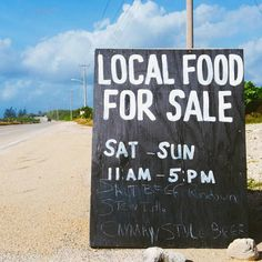 LOCAL FOOD FOR SALE! Whose for some salt beef rundown? #travel #Caribbean