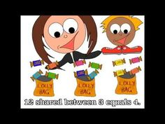 How to Share Equally - Introduction to Division. - YouTube Excellent for kindergarten