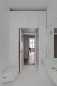 Berlin Mitte Apartment Refurbishment by Atheorem | http://www.yellowtrace.com.au/atheorem-berlin-mitte-apartment/